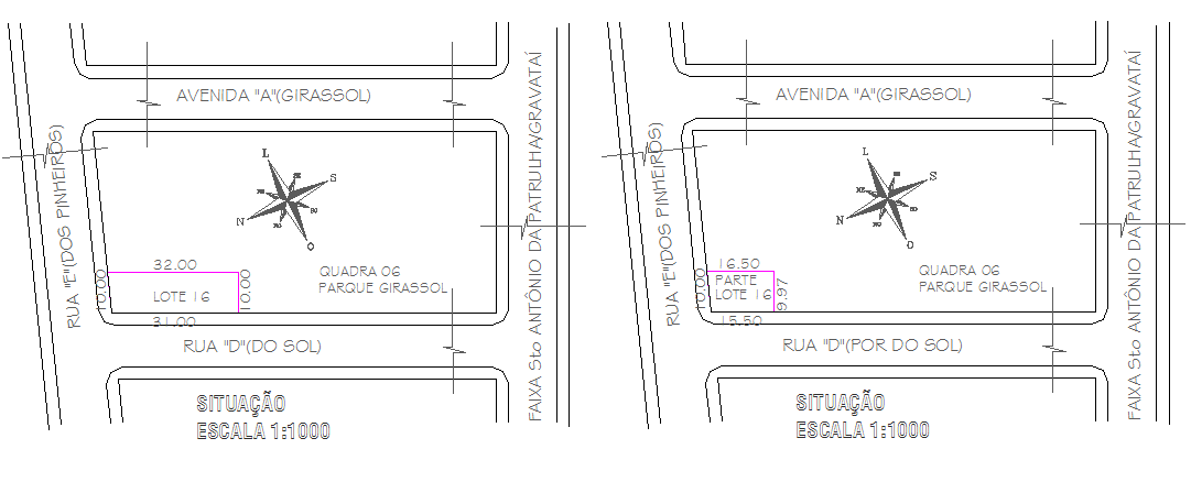 Site plan and location map of house dwg file