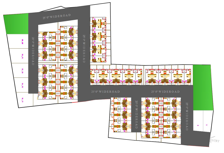 Society Planning Design DWG