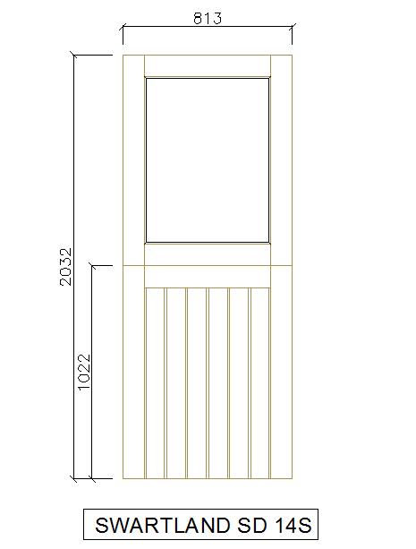 Solid Wooden Door Detail