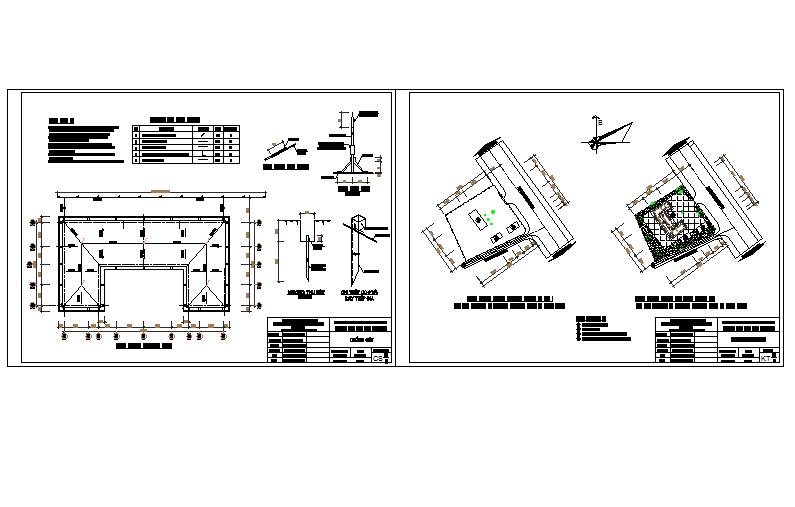 Station medical centre DWG file