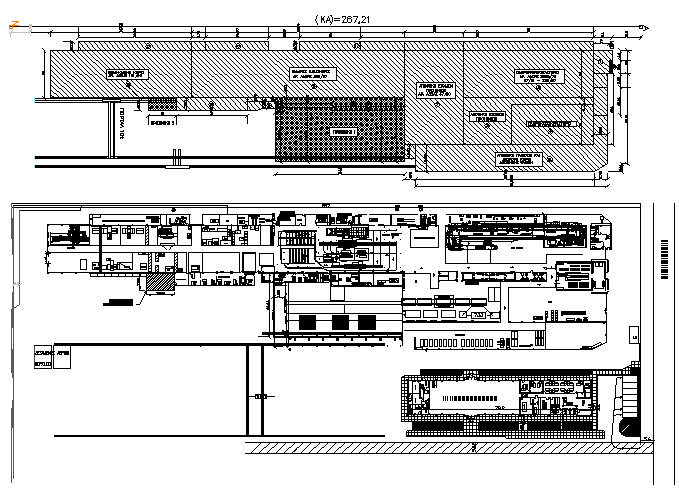Steel fabrication factory plan detail dwg file
