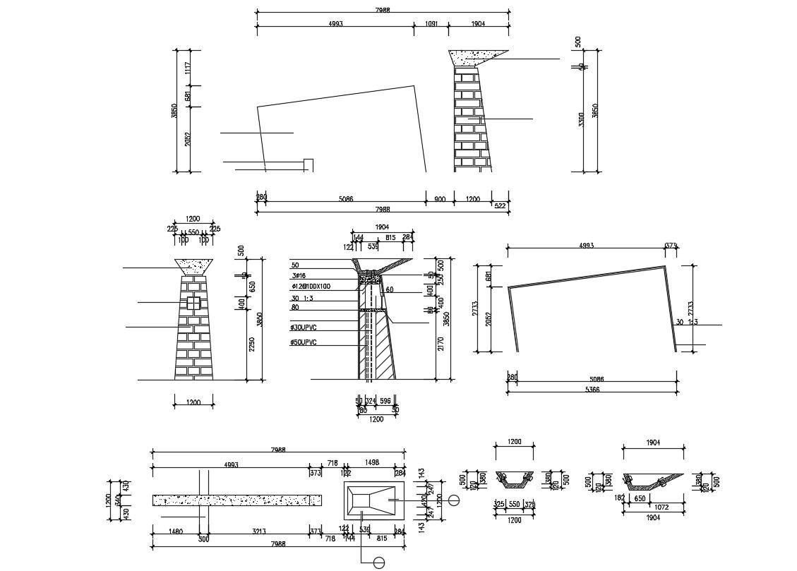 Structural Details AutoCAD File Free