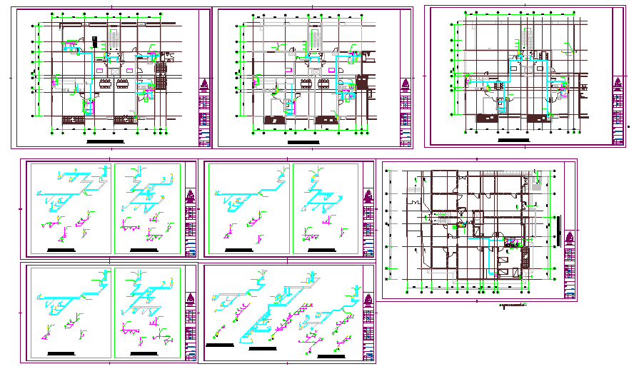Structure Residential Detail Autocad file
