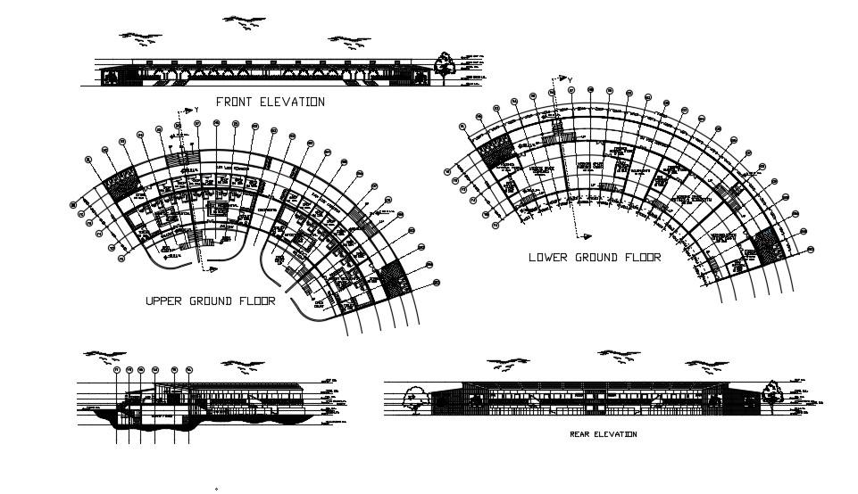 Studio Plan In AutoCAD Drawings