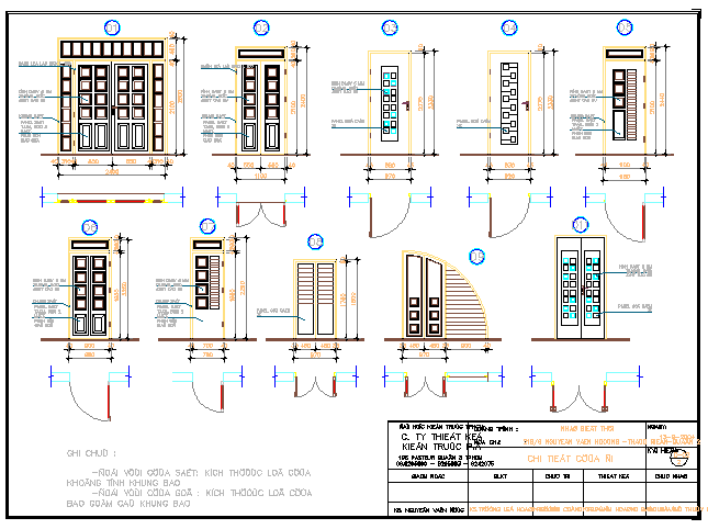 Style and designing blocks of house doors dwg file