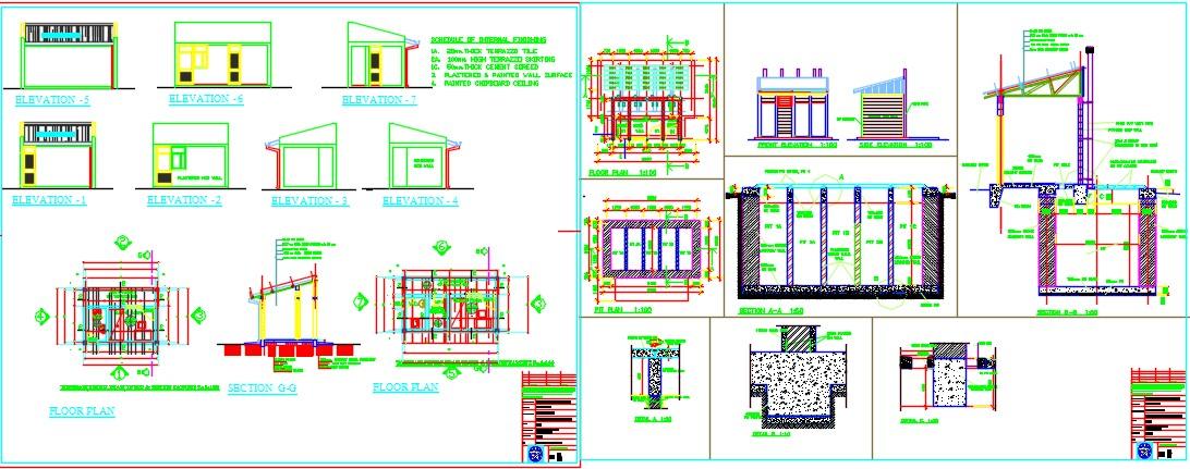 TYPEA_to_Primary_GUARD HOUSE & LATRINE