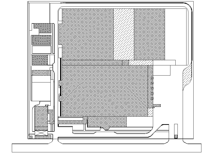 Terrace plan CAD block free download