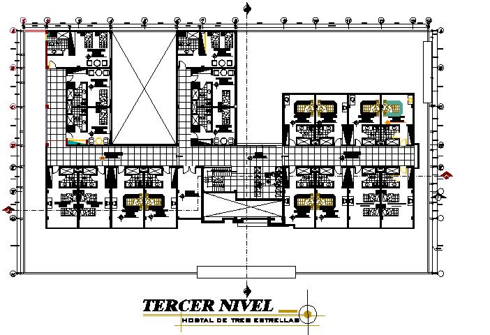 Third floor plan details
