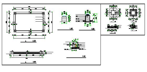 Tree pool , flower pond design drawing