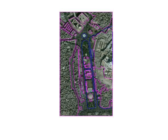 Urban Town planing Map design