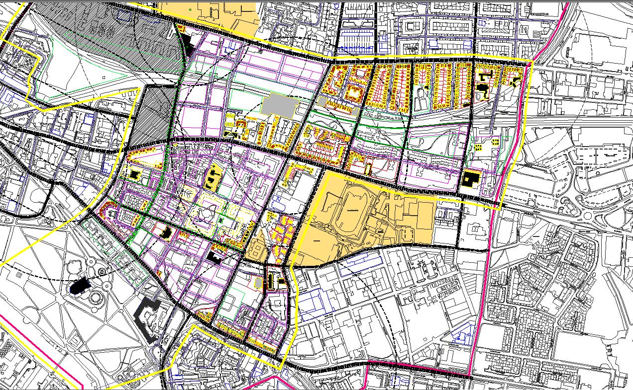 Urban architecture master plan