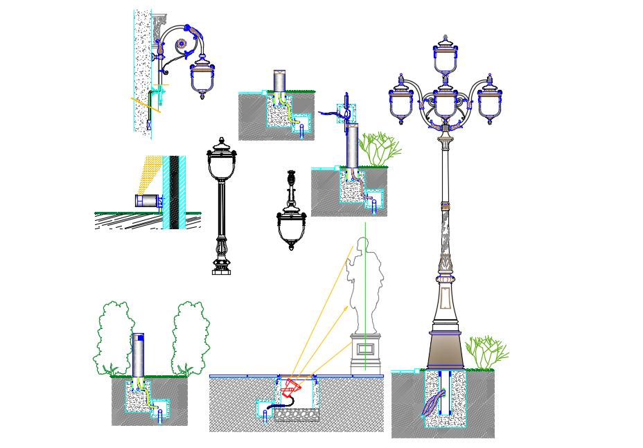 Urban lighting design