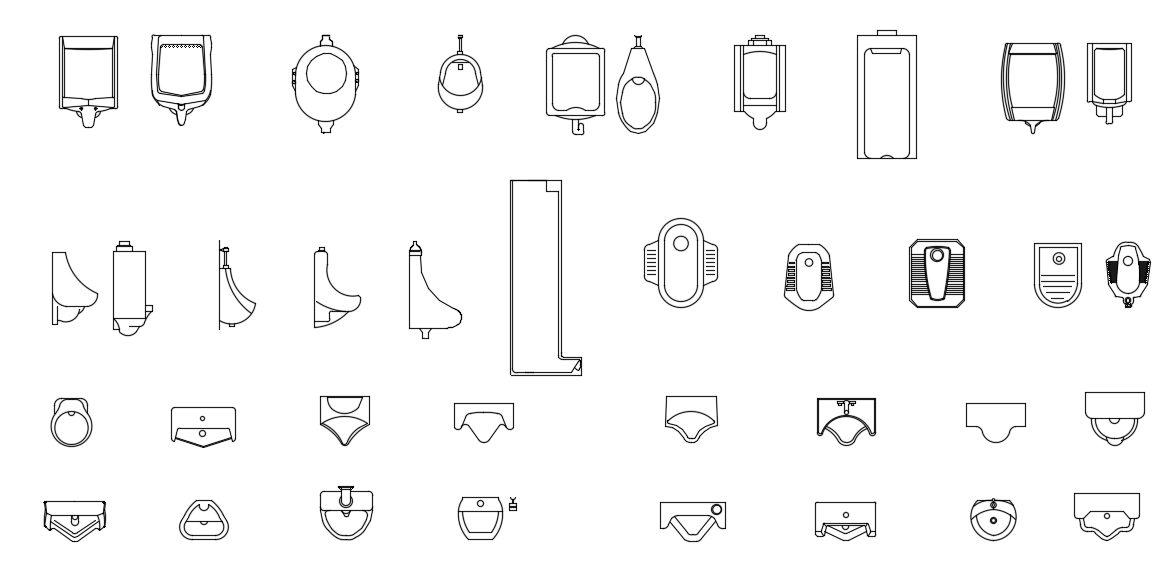 Urinal design