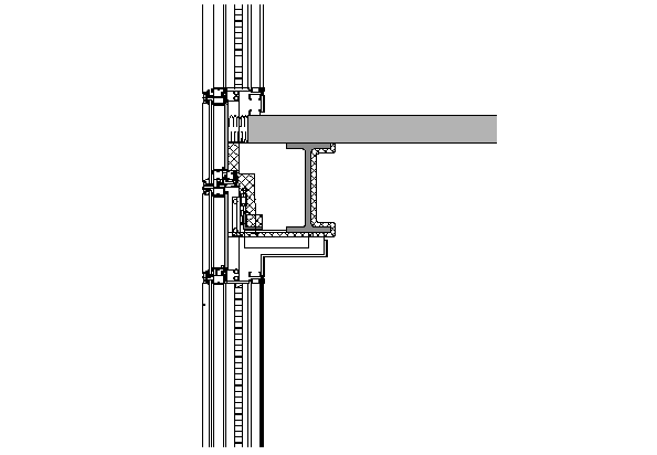 Two Joint Wall section plan dwg file