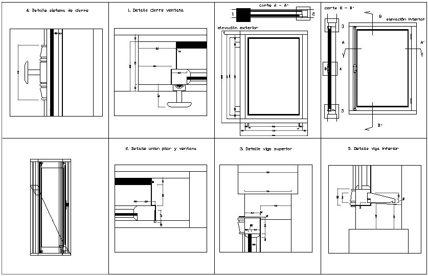 Window design view