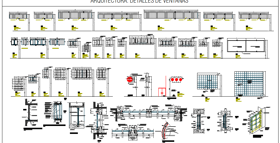 Windows installation details of multiplex theater dwg file