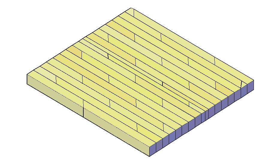 Wooden flooring file in 3d