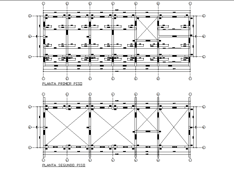 Working Layout commercial plan detail dwg file