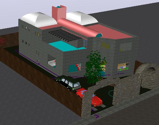 Working progressing casa Mexico plan detail