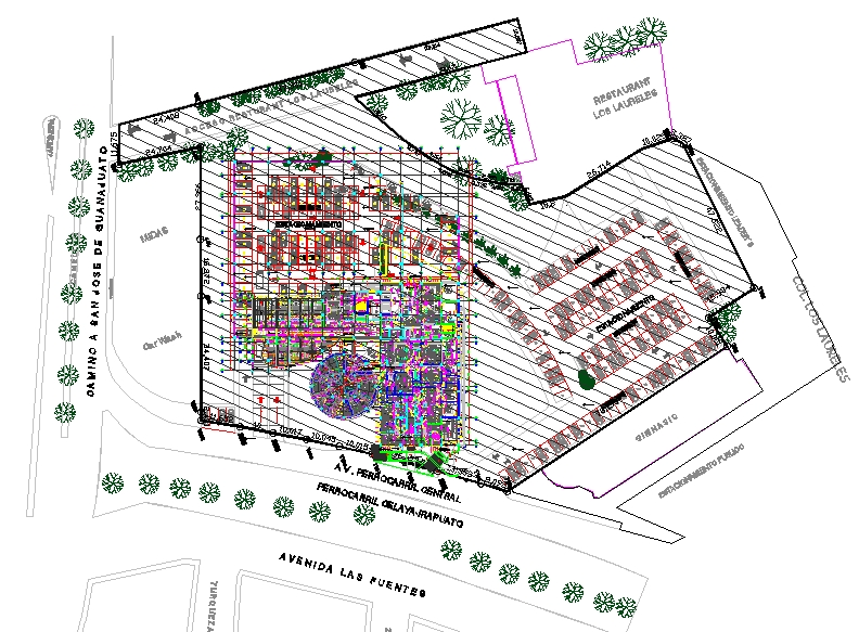 Hospital detail plan