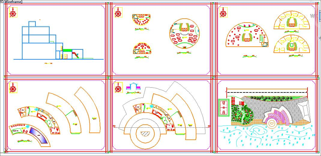 Commercial centre design project