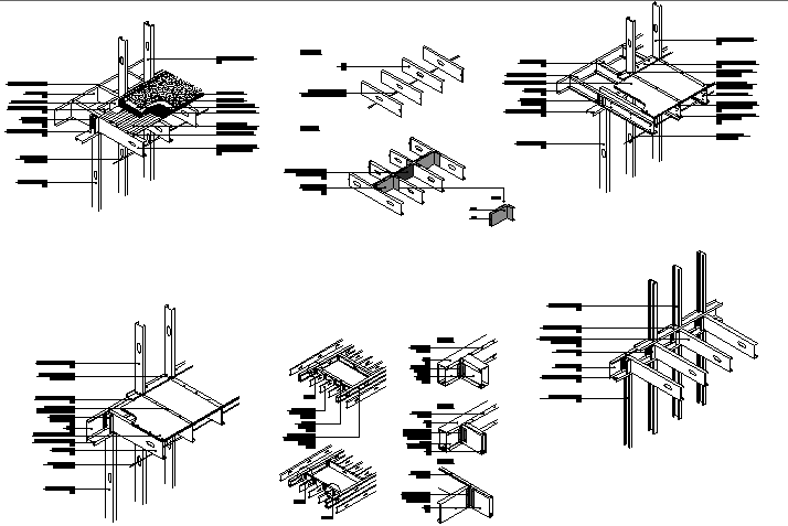 assembling and joining of beam structure