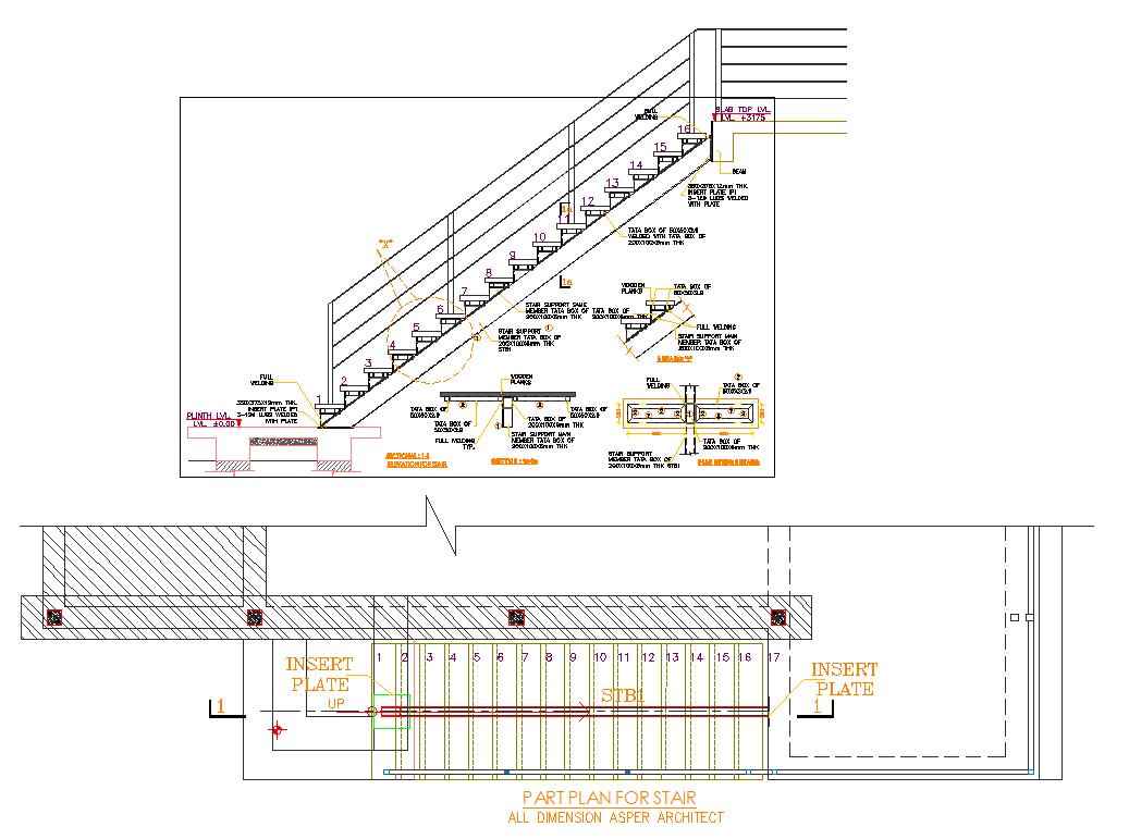 Stair plan
