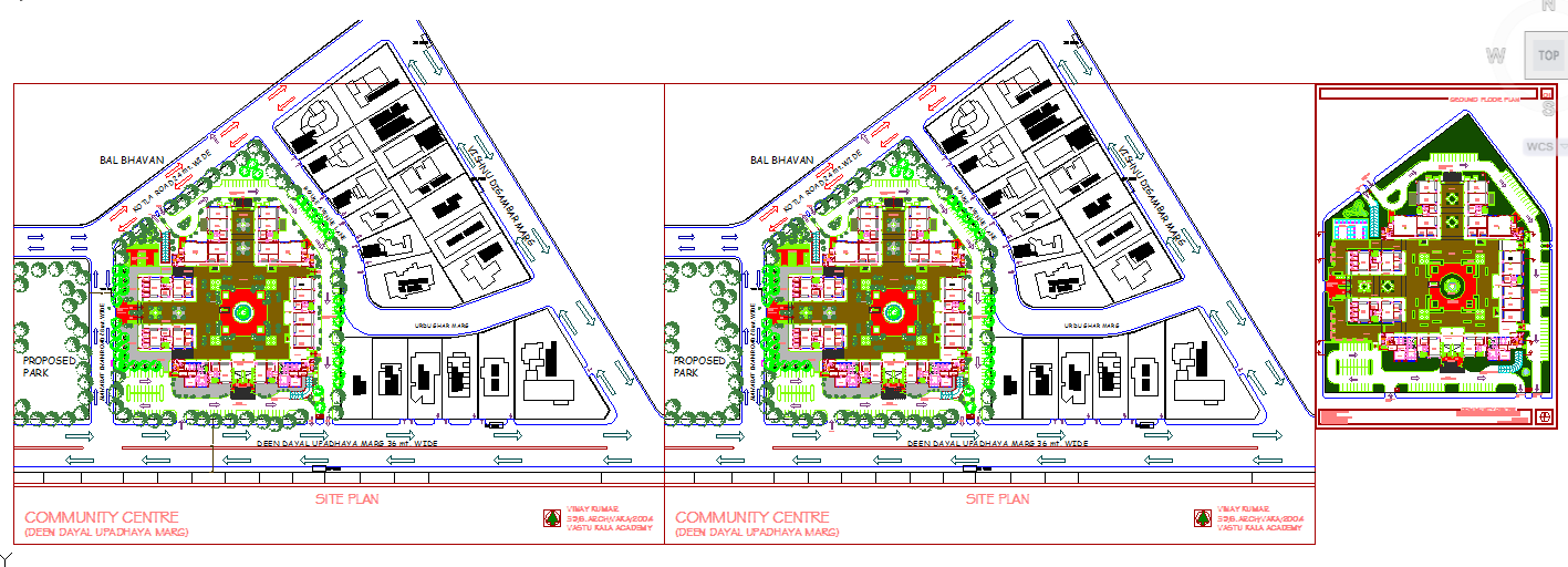 Community Centre Lay-Out