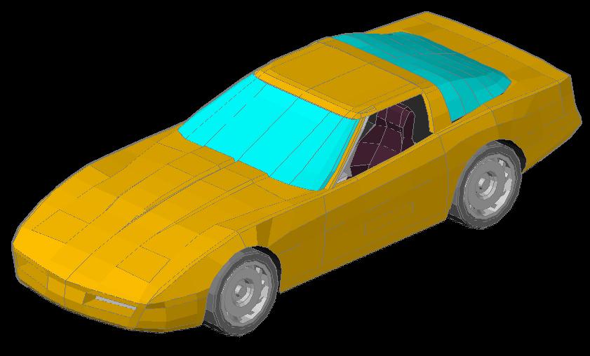 3d Corvette