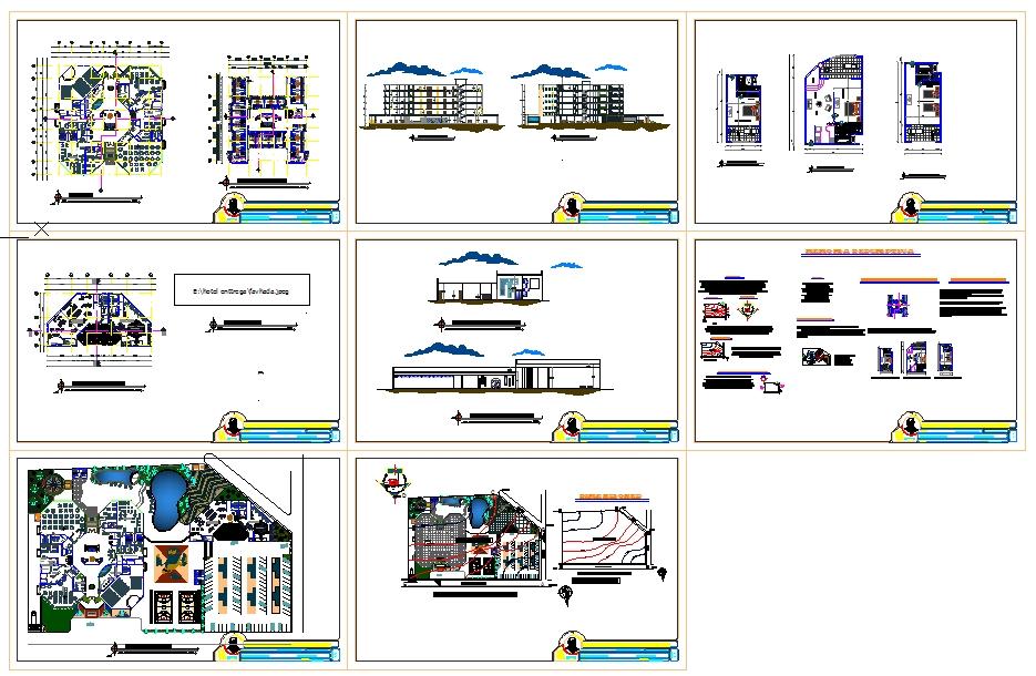 5 Star Hotel Design File