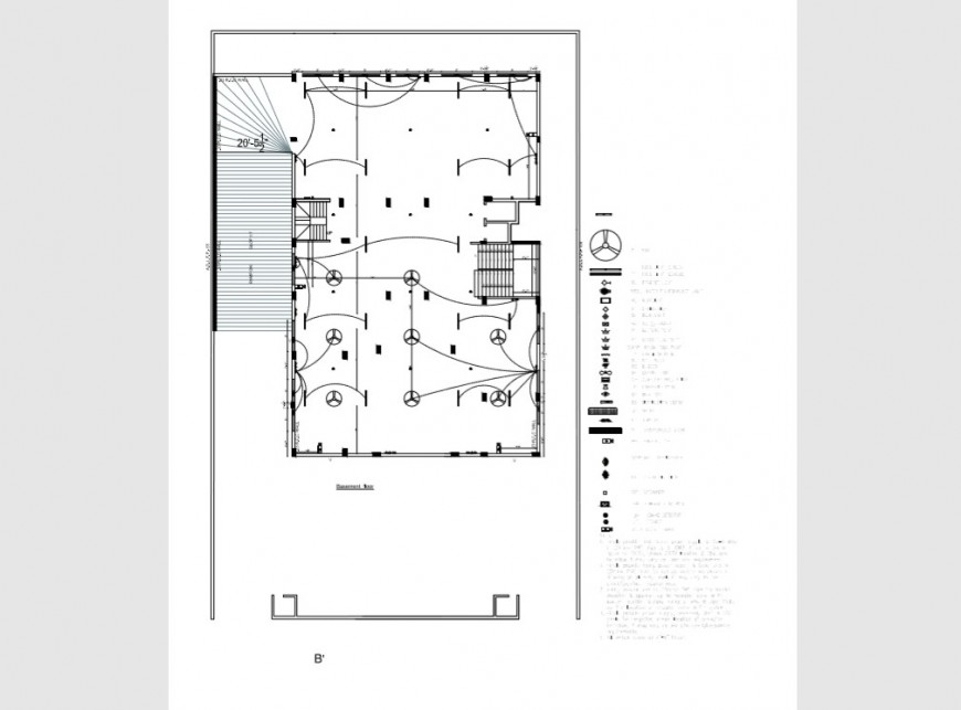 Basement Floor Electrical Layout Plan Details Of House Pdf File