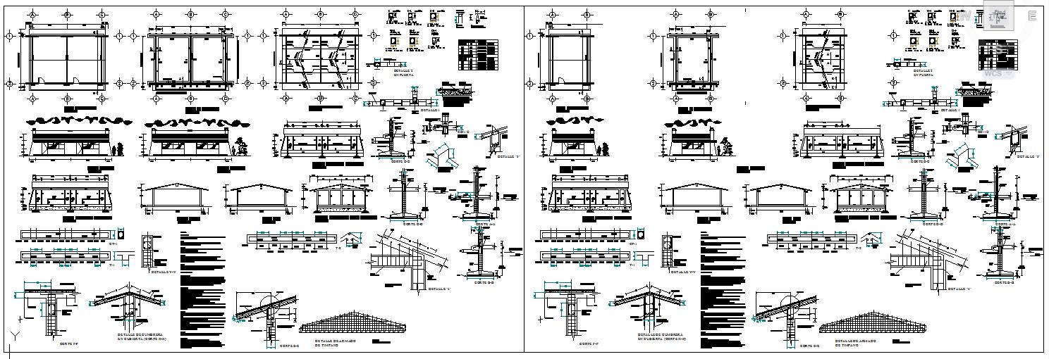 Structural Details School Classroom