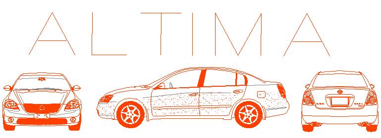 Nissan Altima car block