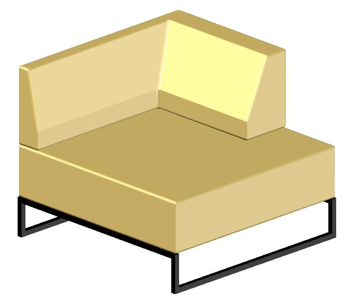 3D chair design Block