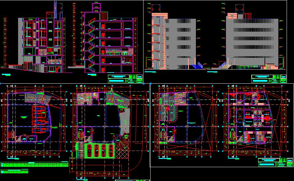Hostel Building Plans