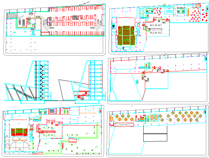 central office area architecture design drawings