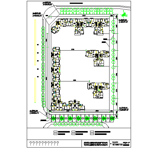 courtyard program design Lay-out Detail