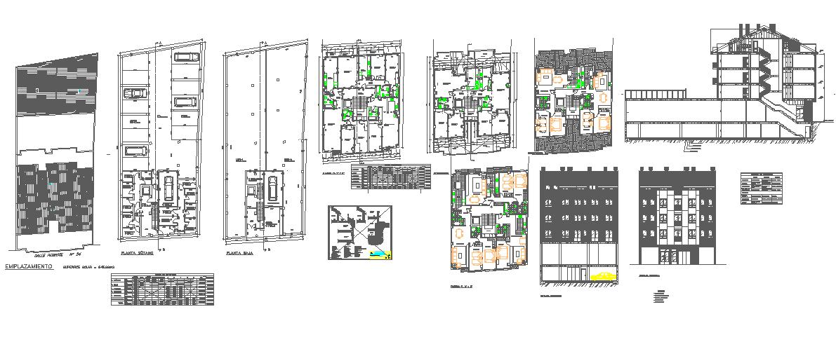 apartment  house detail