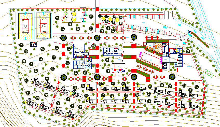 Residential planing of society