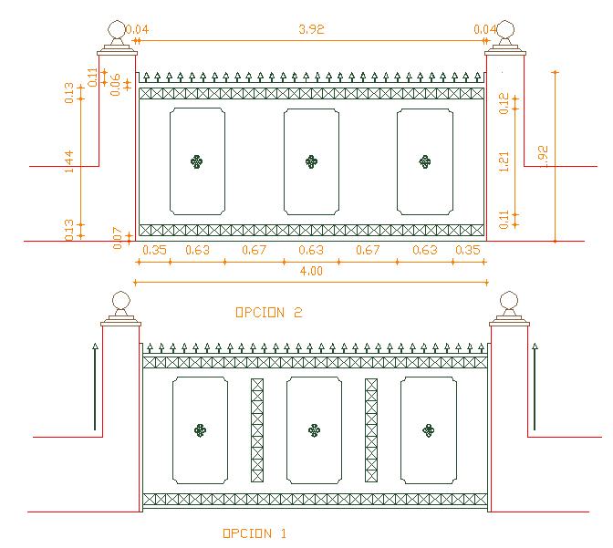 Metallic Gate