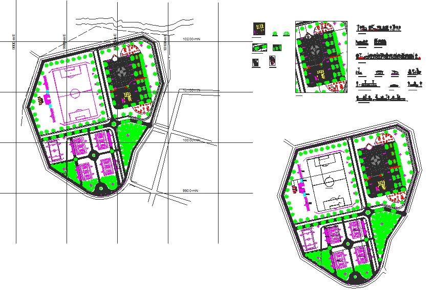 Garden Lay-out plan