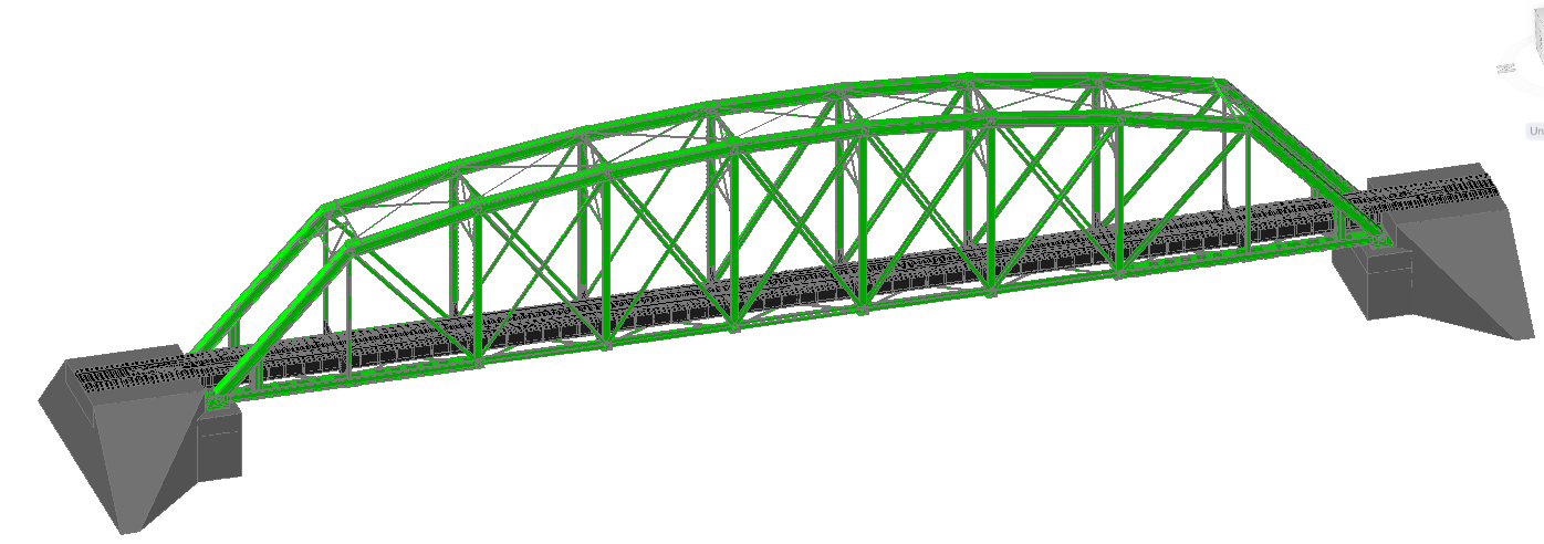 3D Railway Bridge