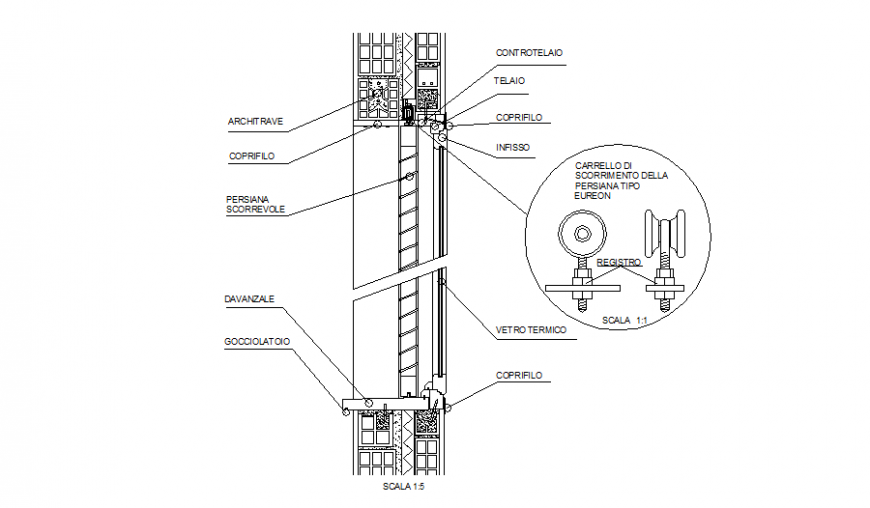 Door installation details with green end pers cad drawing details dwg file