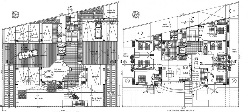 Drawing details of apartment plan dwg autocad software ...