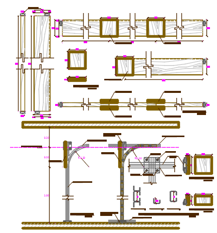 dynamic divisions dwg file