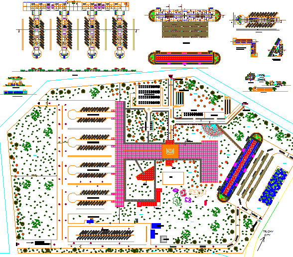 Bus Stand plan