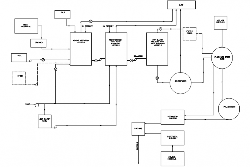 Electrical Riser Diagram For Water Heater Cad Drawing