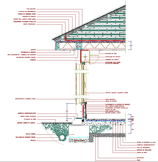 Roof Section Detail