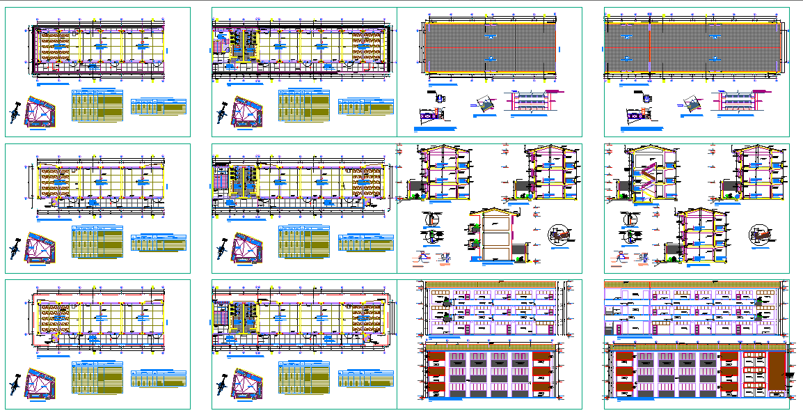School plan design file