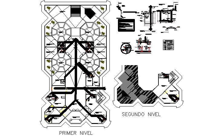 flooring  layout dwg file